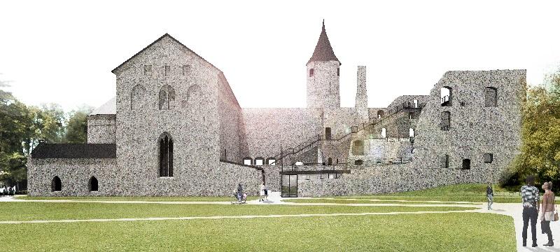 Haapsalu piiskopilinnuse arendusprojekt sai EAS-ilt toetuse