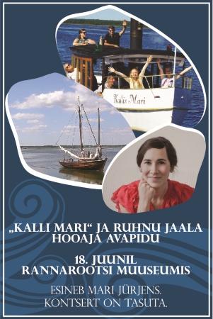 """Mari Jürjens avab """"Kalli Mari"""" ja Ruhnu jaala hooaja"""