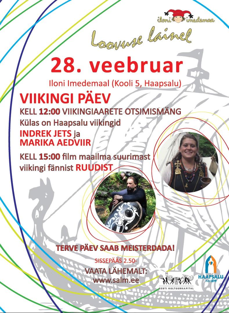 Pühapäeval on Iloni Imedemaal viikingipäev