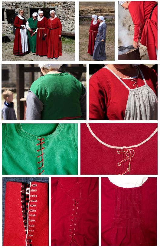 Keskaegsete rõivaste koolitus