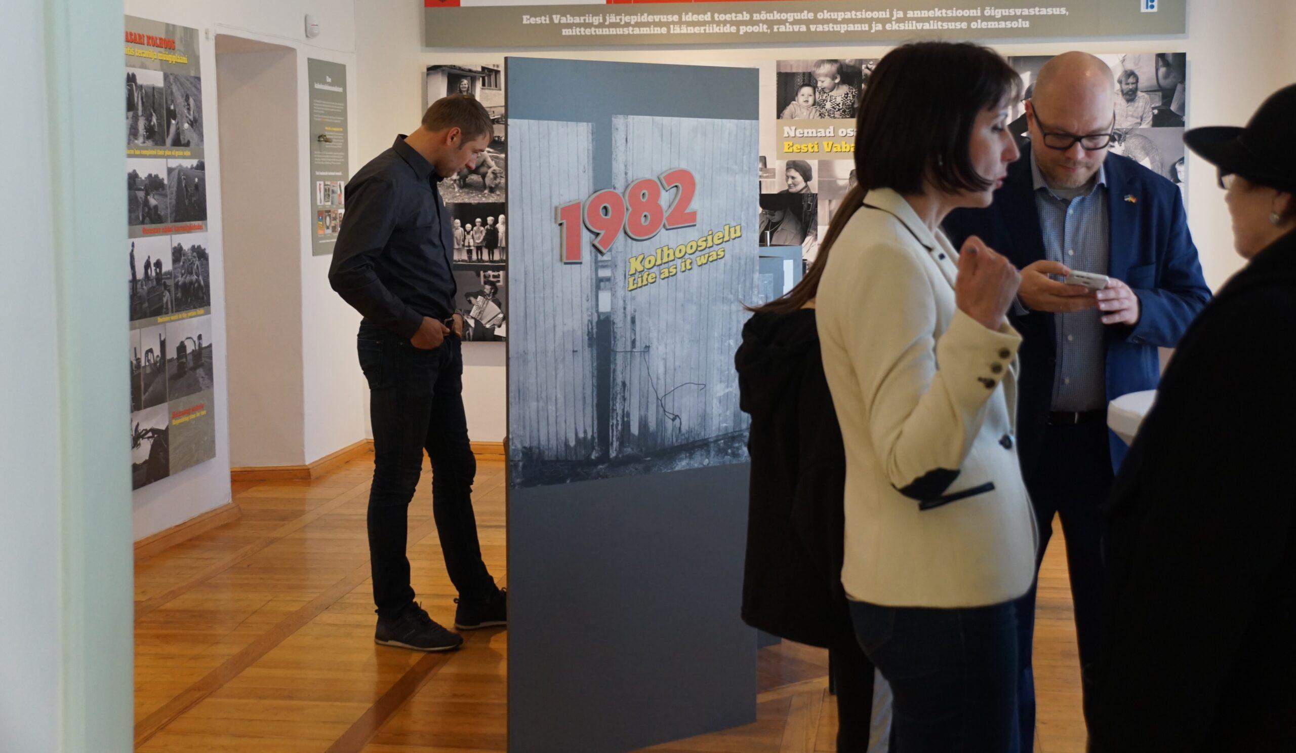 """Reedel toimub Haapsalu raekojas näituse """"1982"""" publikuprogramm"""