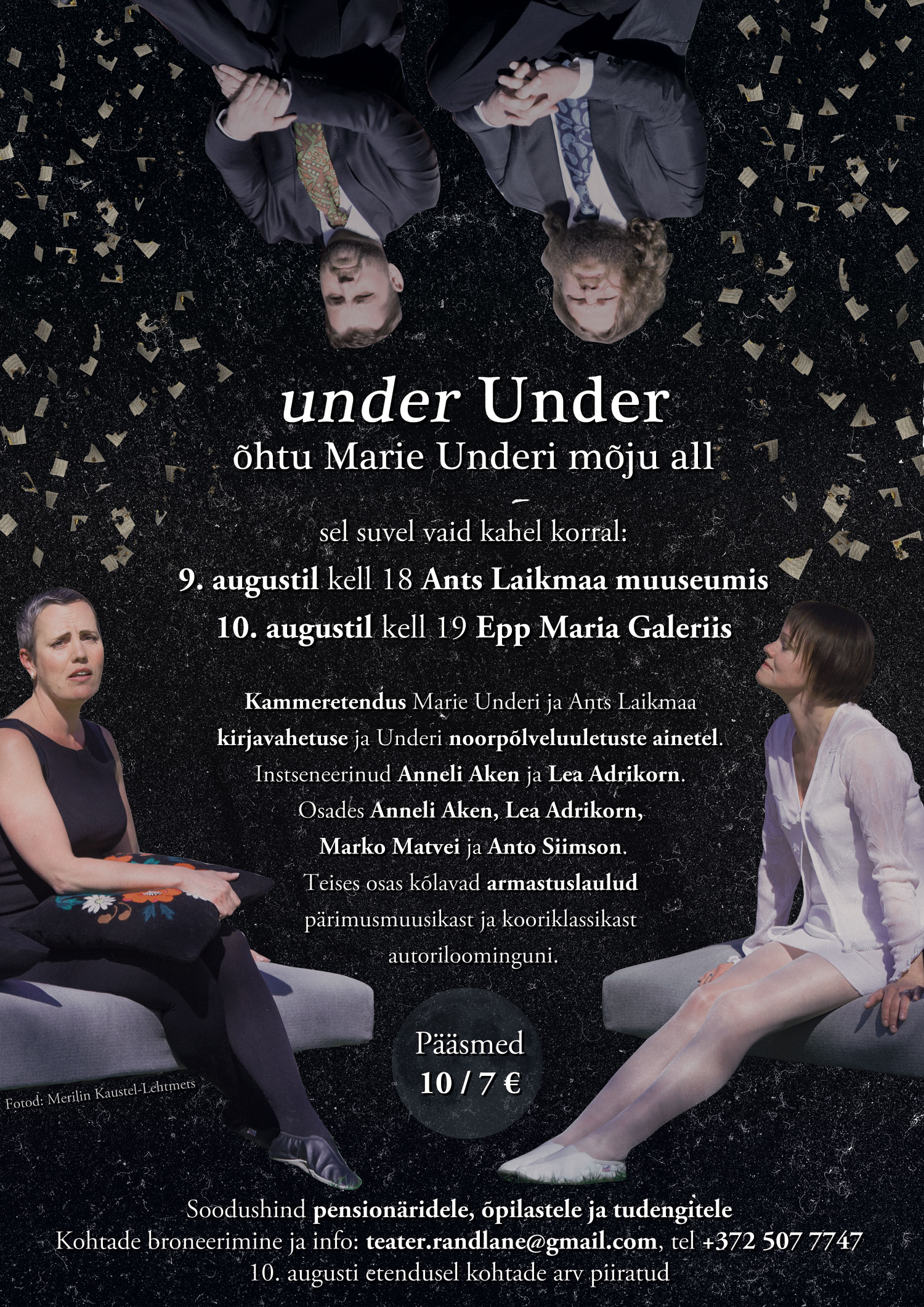 under Under ehk õhtu Marie Underi mõju all