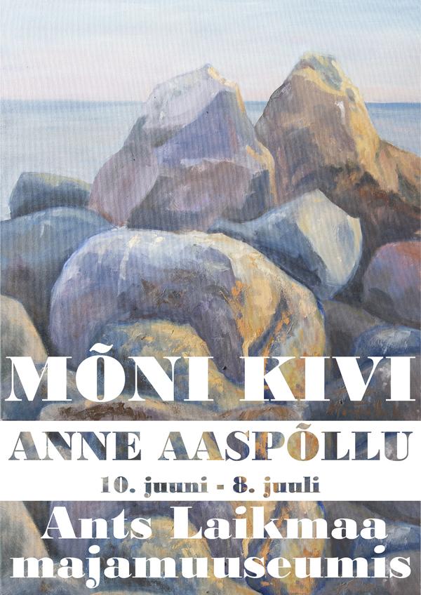 """Ants Laikmaa muuseumis avatakse Anne Aaspõllu näitus """"Mõni kivi"""""""