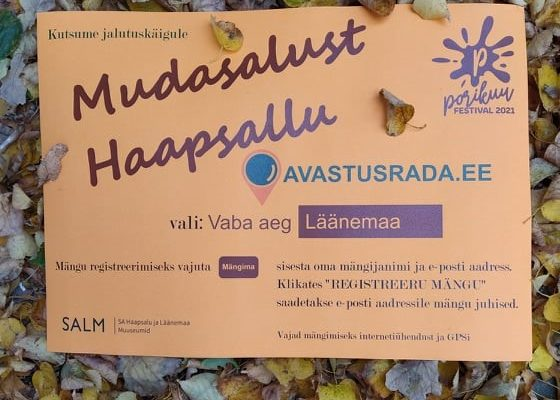 Kutsume jalutuskäigule Mudasalust Haapsallu!